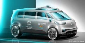 Autonomous VW Electric Bus